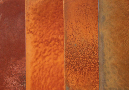 Vernice effetto oxide metal